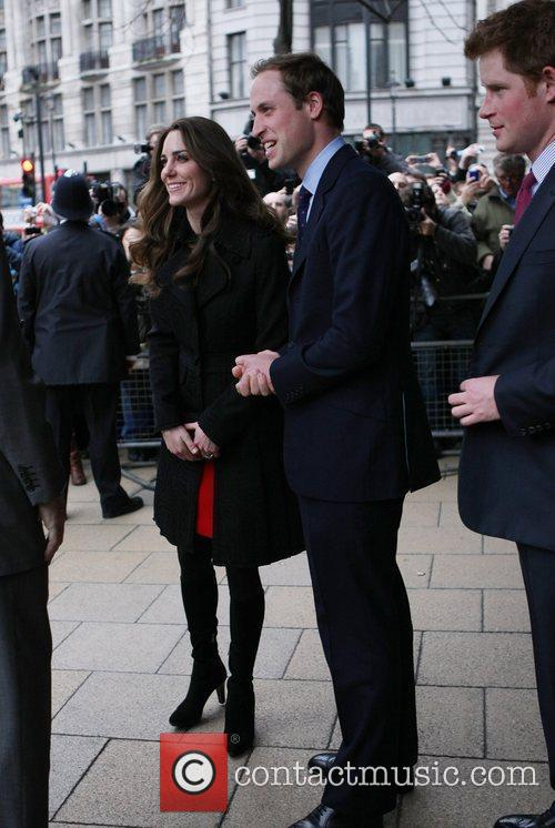 Prince William, Kate Middleton and Prince Harry 3