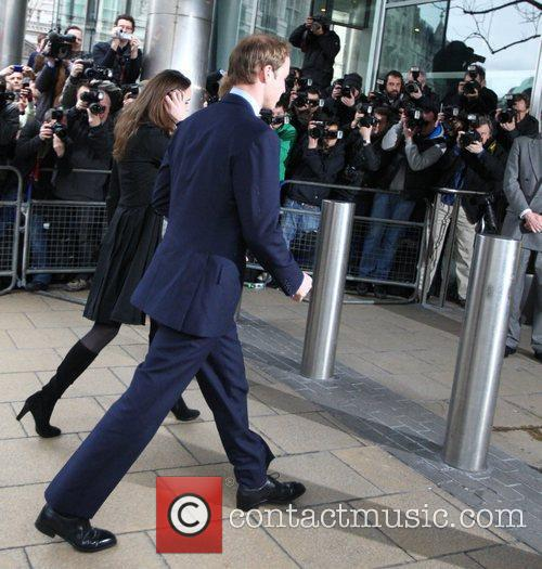 Prince William, Kate Middleton and Prince Harry 6