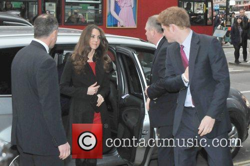 Kate Middleton and Prince Harry Prince William and...