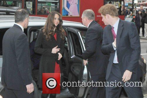 Kate Middleton, Prince Harry and Prince William 1