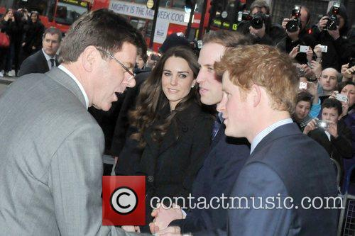 Prince William, Kate Middleton and Prince Harry 11