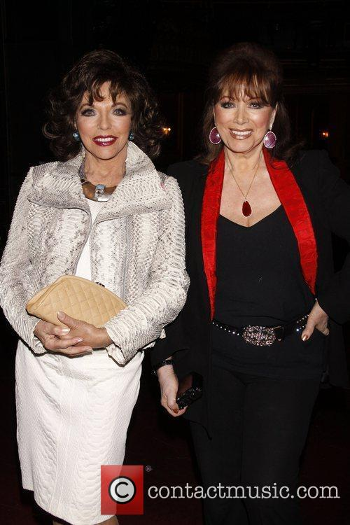 Joan Collins and Jackie Collins Real Divas meet...