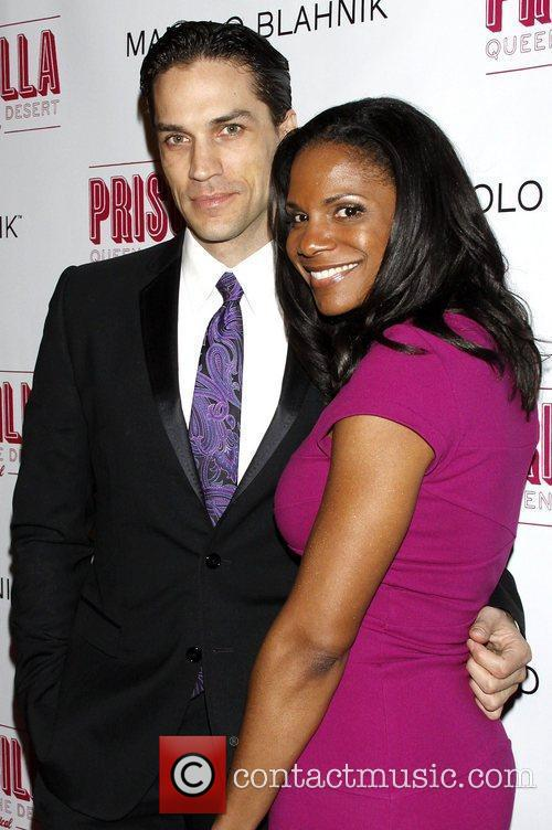 Will Swenson and Audra McDonald Opening night after...