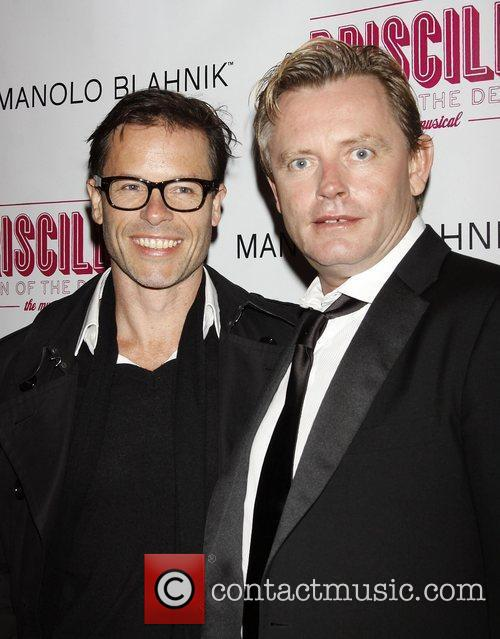 Guy Pearce and Guest Opening night after party...