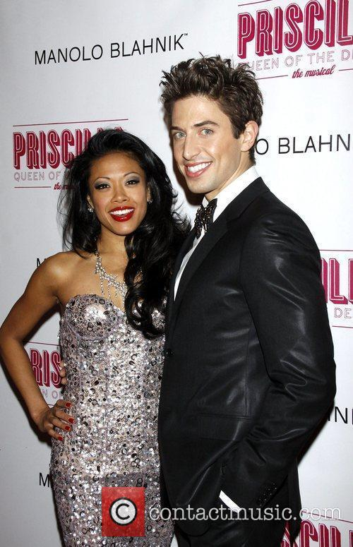J. Elaine Marcos and Nick Adams Opening night...