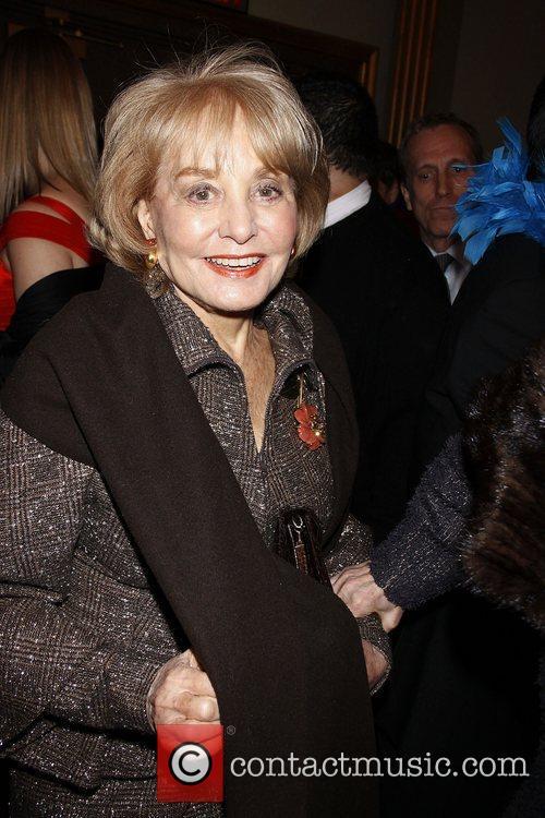 Barbara Walters  Opening night of the Broadway...