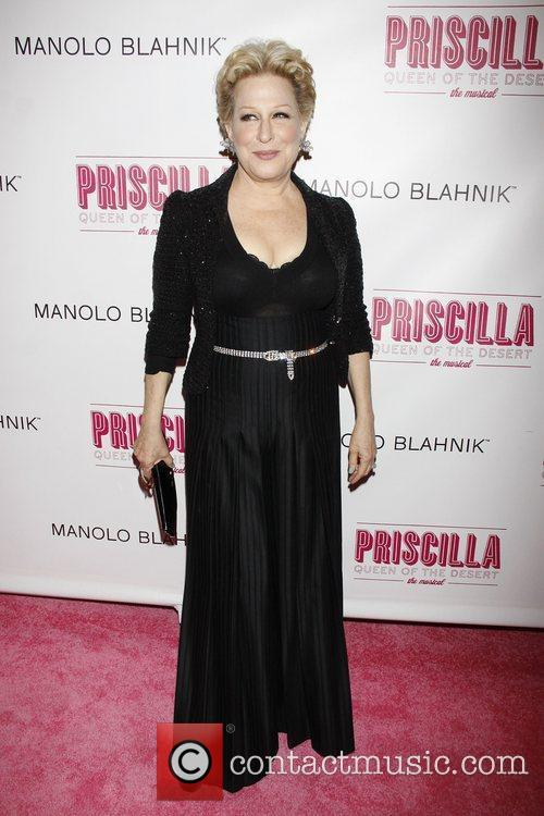 Bette Midler  Opening night of the Broadway...