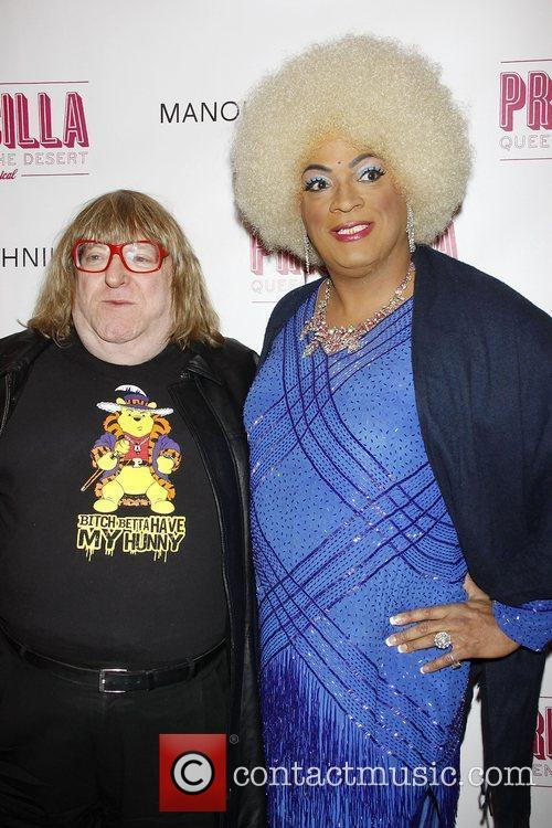 Bruce Vilanch and Debarge