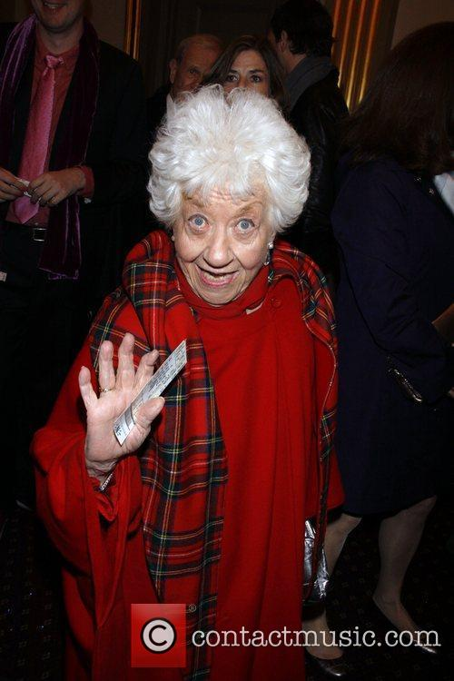 Charlotte Rae Opening night of the Broadway musical...