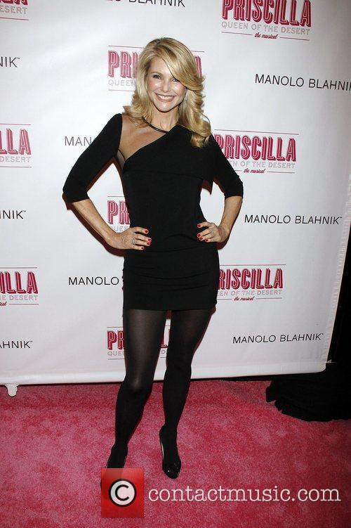 Christie Brinkley  Opening night of the Broadway...