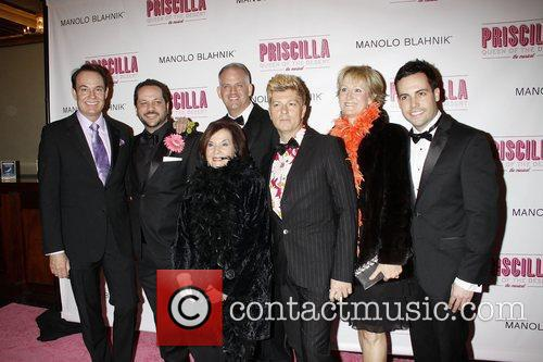 guests  Opening night of the Broadway musical...