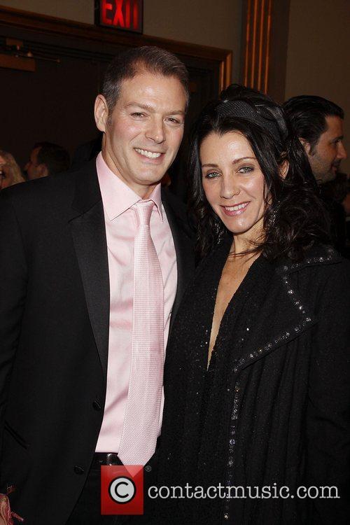 Kevin Spirtas and Deborah Taylor  Opening night...