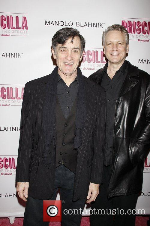 Roger Rees and Rick Elice  Opening night...