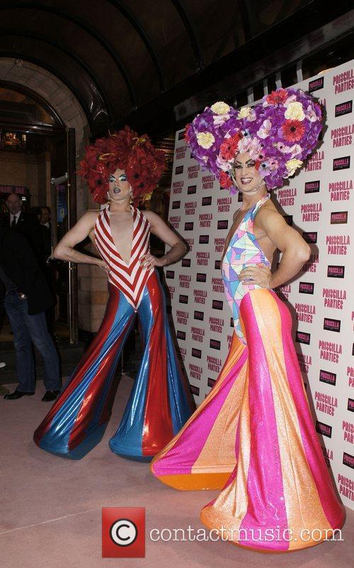 Performers  Attending Performance Of Priscilla Queen Of...