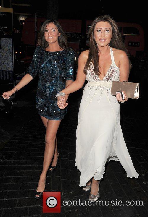 Lauren Goodger and Guest 'Priscilla Parties -Launch' held...