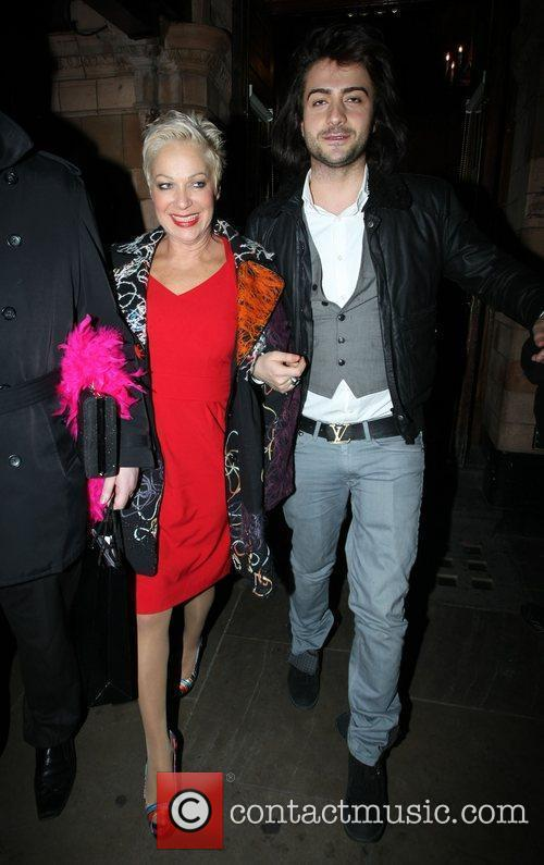 Denise Welch and Guest 'Priscilla Parties -Launch' held...