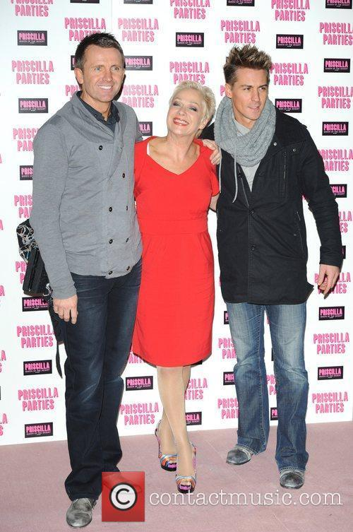 Denise Welch and guests Priscilla Parties - launch...