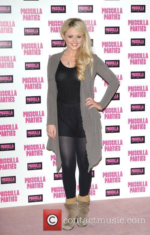 Emily Atack Priscilla Parties - launch held at...