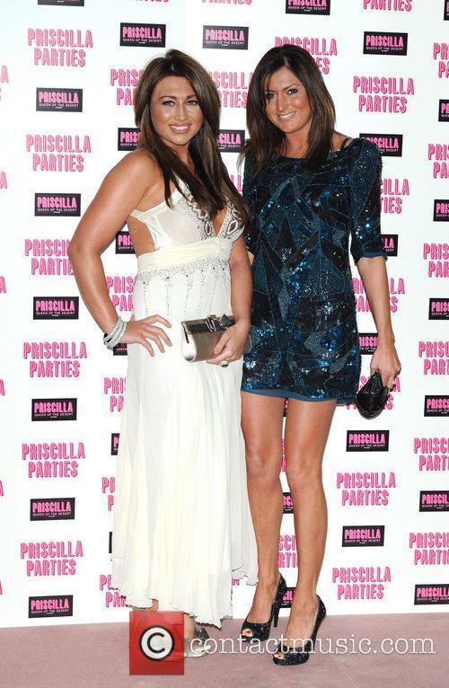 Lauren Goodger (L) and guest Priscilla Parties -...