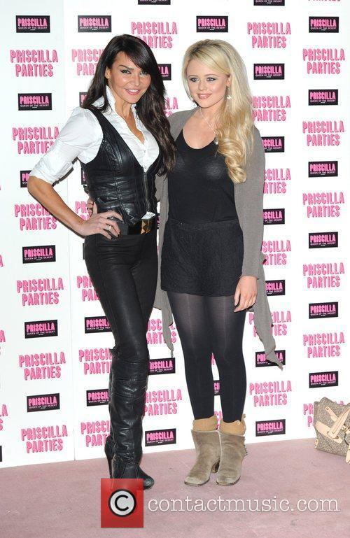 Lizzie Cundy and Emily Atack 1