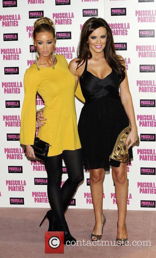 Lauren Pope and Maria Fowler  Priscilla Parties...
