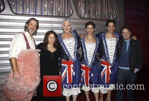 David Johnson, Andrea Martin, Nathan Lane and Nick Adams 1