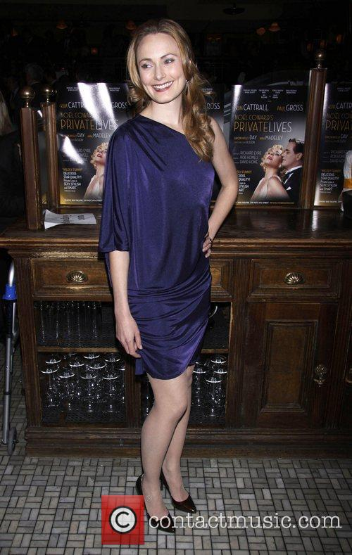 Anna Madeley Broadway opening night after party for...