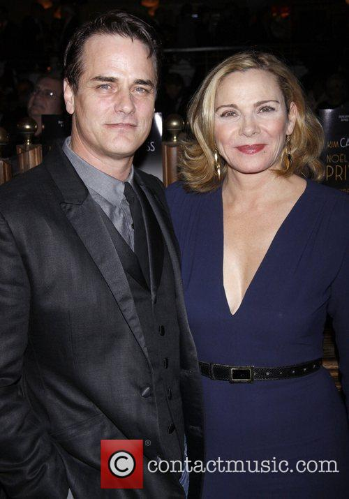 Paul Gross, Kim Cattrall and Times Square 1