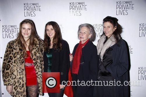Isabel Fonseca and guests  Broadway Opening night...