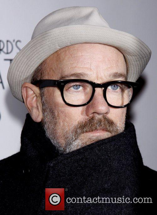 Michael Stipe Broadway Opening night of 'Private Lives'...