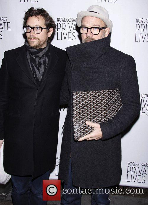 Thomas Dozol and Michael Stipe  Broadway Opening...