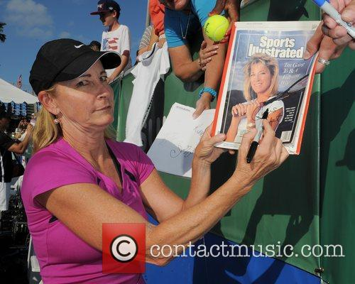 The Chris Evert/Raymond James Pro-Celebrity Tennis Classic Pro-Am...