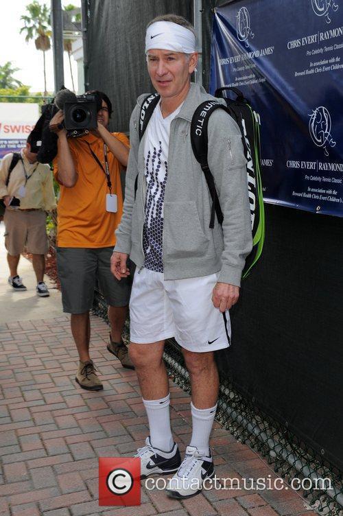 John McEnroe  The Chris Evert/Raymond James Pro-Celebrity...