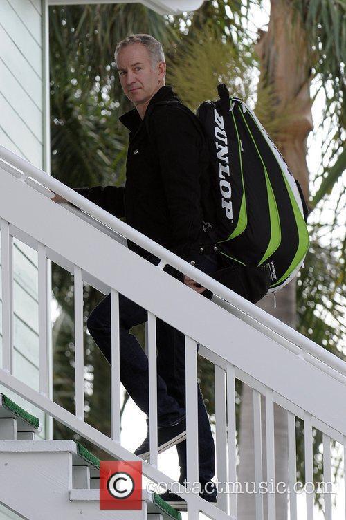 John McEnroe The Chris Evert/Raymond James Pro-Celebrity Tennis...