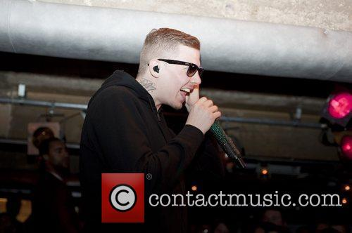 Stephen Paul Manderson aka Professor Green performing at...