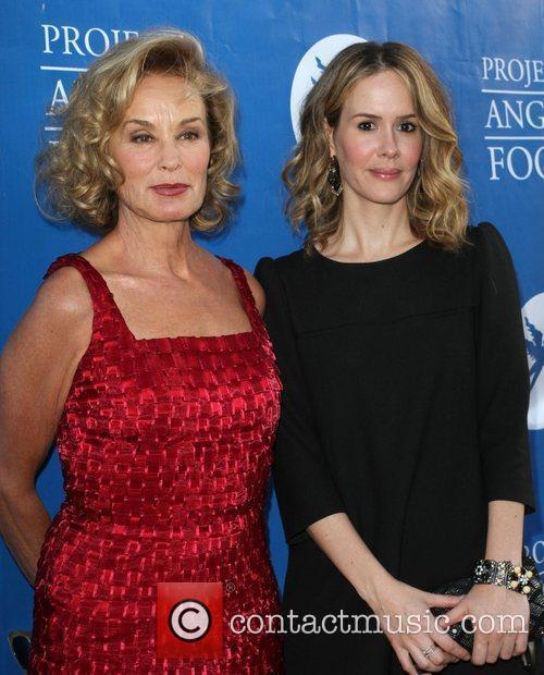 Jessica Lange and Sarah Paulson 10