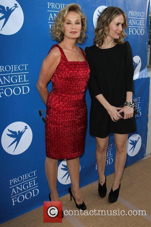 Jessica Lange and Sarah Paulson 9