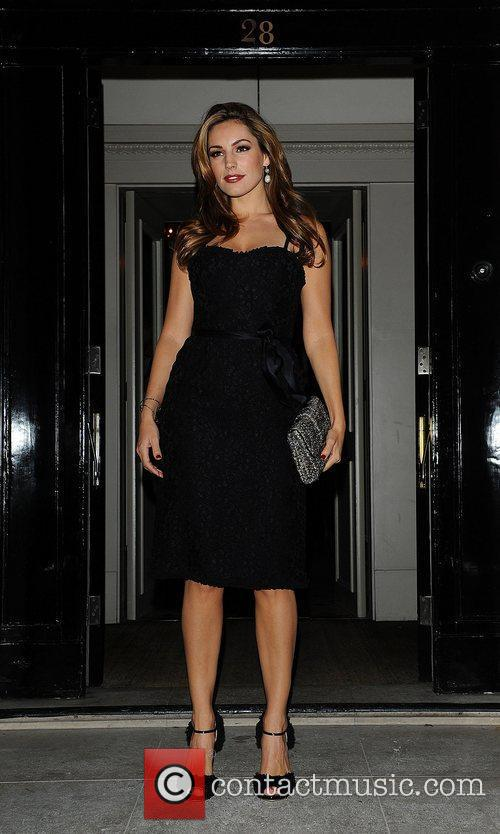 Kelly Brook at the Spring Summer 2012 collection...