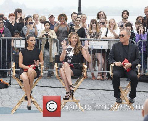 Kim Kardashian, Michael Kors and Nina Garcia 5