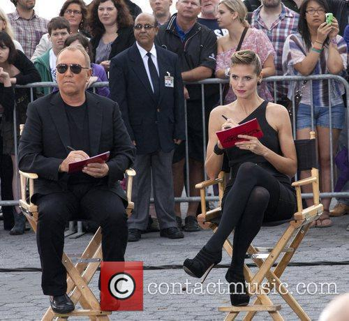 Michael Kors and Heidi Klum 1