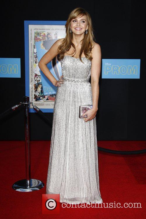 Aimee Teegarden World Premiere of 'Prom' at the...
