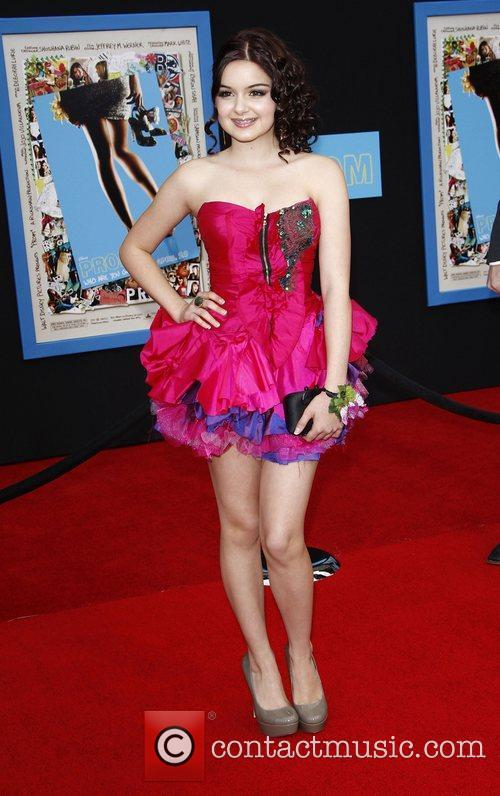 Ariel Winter World Premiere of 'Prom' at the...