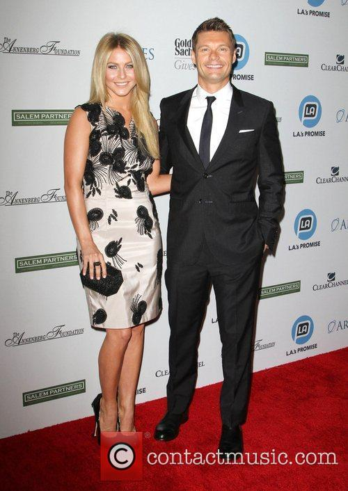 Julianne Hough and Ryan Seacrest 2