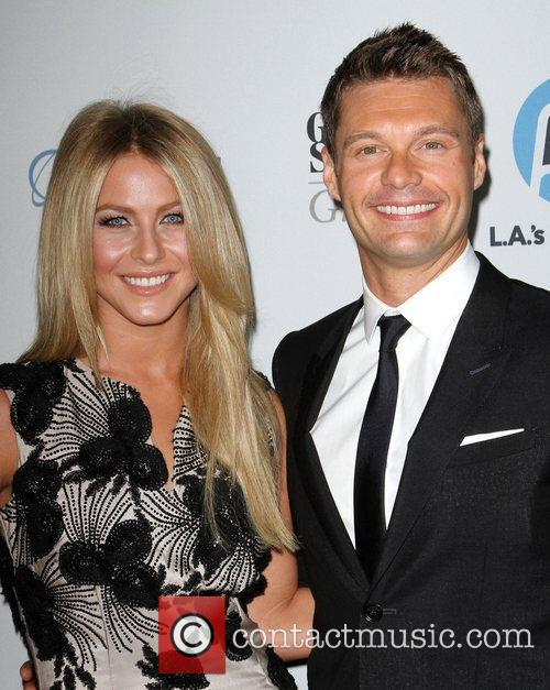 Julianne Hough and Ryan Seacrest 1