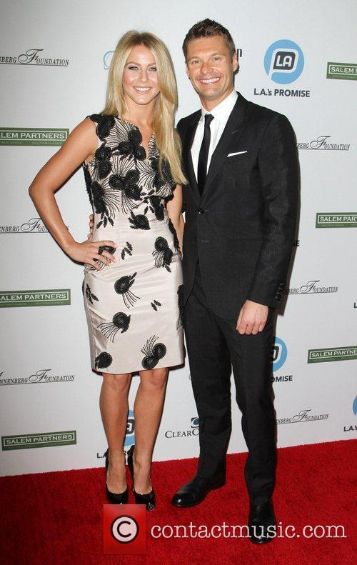 Julianne Hough and Ryan Seacrest 5