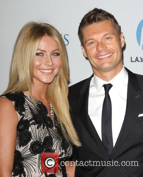 Julianne Hough and Ryan Seacrest 8