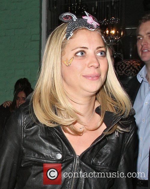 Holly Branson leaves Public Nightclub.