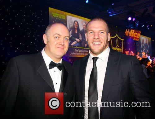 Dara O'Briain and James Haskell The 2011 Publican...