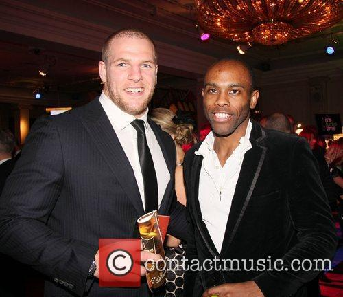 James Haskell and guest The 2011 Publican Awards...