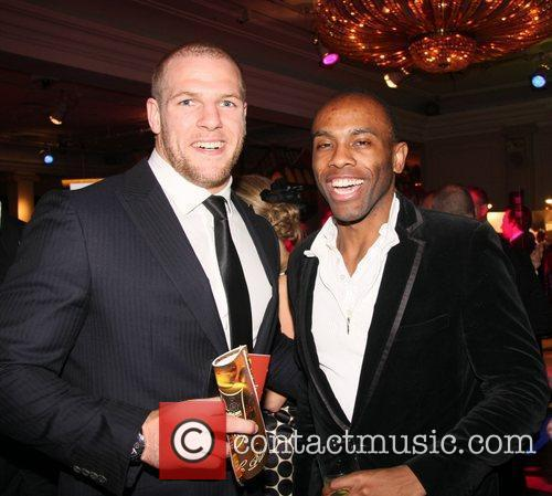 James Haskell and Damian Darkko  The 2011...